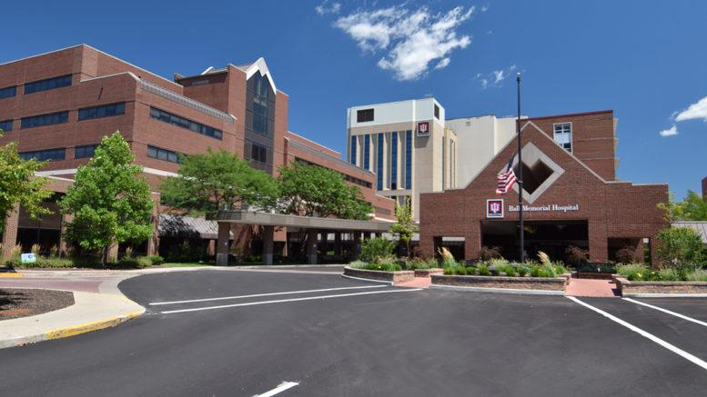 IU Health Ball Memorial Hospital. Photo by Mike Rhodes